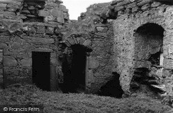 Muness Castle, Entrance To Stairs 1954, Unst