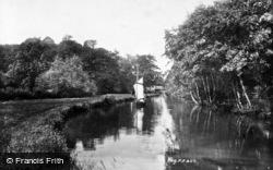 Unstead, The Wey 1898