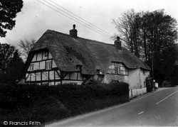 Upavon, Old Cottages, Main Road c.1965