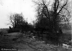 Upavon, River Avon c.1965