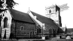 Upavon, St Mary's Church c.1965