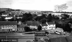 Upavon, View From The Church Tower c.1965