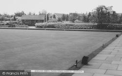 Upminster, Bowling Green, Clock Tower Gardens c.1965
