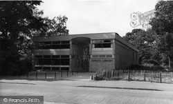 Upminster, County Library c.1960