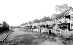 Upminster, Courtenay Gardens 1909