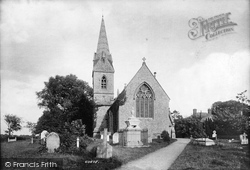 Upminster, Cranham Church 1908
