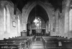 Upminster, Cranham Church Interior 1908
