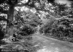 Upminster, Hall Lane 1909