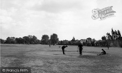 Upminster, Miniature Golf Course c.1960