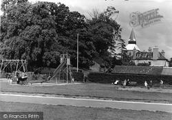 Upminster, Recreation Ground, Children's Playground c.1950