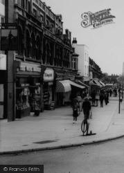 Upminster, Shops On Station Road c.1960