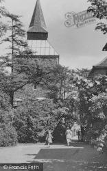 Upminster, St Laurence Church c.1950