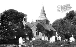 Upminster, St Lawrence Church 1908