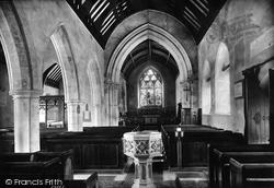 Upminster, St Lawrence Church Interior 1908