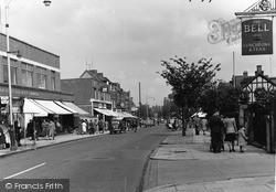 Upminster, St Mary's Lane c.1950