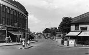 Upminster, Station Road c1950