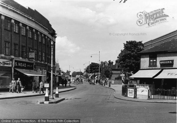 Photo of Upminster, Station Road c1950