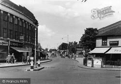 Upminster, Station Road c.1950