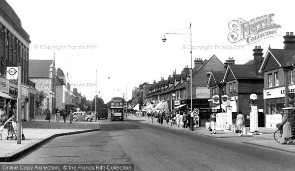 Photo of Upminster, Station Road c.1955