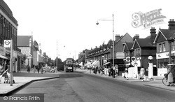 Upminster, Station Road c.1955