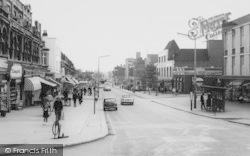 Upminster, Station Road c.1960