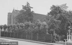 Upminster, The Catholic Church c.1955