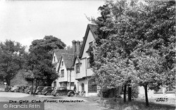 Upminster, The Golf Club House c.1950