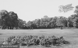 Upminster, The Putting Green c.1960
