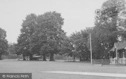 Upminster, The Recreation Ground c.1955