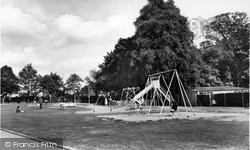 Upminster, The Recreation Ground c.1960