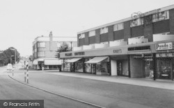 Upminster, The Shopping Parade, Corbets Tey Road c.1960
