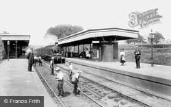 Upminster, The Station 1908