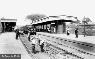 Upminster, the Station 1908