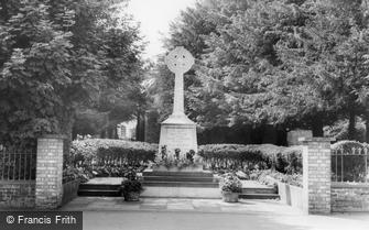 Upminster, the War Memorial c1965