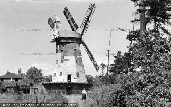 Photo of Upminster, the Windmill c1965, ref. U9009