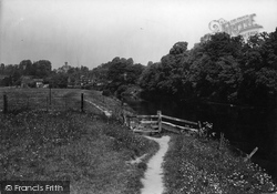 Upper Arley, A Pleasant Pathway c.1939