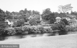 Upper Arley, And The River Severn c.1955