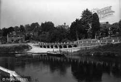 Upper Arley, Bridge And Ferry c.1939