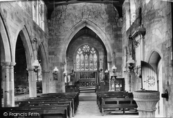 Upper Arley, Church Interior 1910