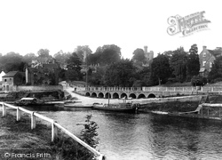 Upper Arley, Ferry 1904