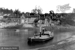 Upper Arley, Ferry And Village c.1939