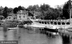 Upper Arley, Ferry And Village c.1960
