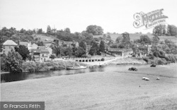 Upper Arley, From Across The River Severn c.1955