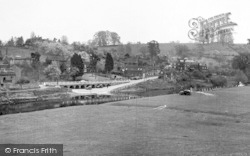 Upper Arley, From Across The River Severn c.1960