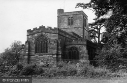 Upper Arley, St Peter's Church c.1955
