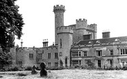 Upper Arley, the Castle c1955