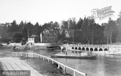 Upper Arley, The Ferry c.1939
