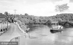 Upper Arley, The Ferry c.1960