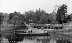 Upper Arley, The Ferry, From Across The River Severn c.1955
