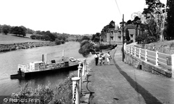 Upper Arley, The Landing c.1960